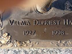 """Velma M """"Vel"""" <I>DePriest</I> Hans"""