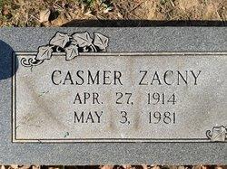 "Casmer (none) ""Curly"" Zacny"