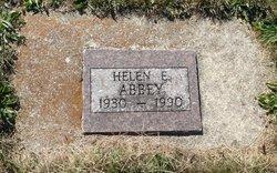 Helen Elizabeth <I>Woods</I> Abbey