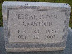 Eloise <I>Sloan</I> Crawford