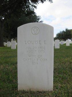 Louise Elizabeth <I>Porter</I> Cox