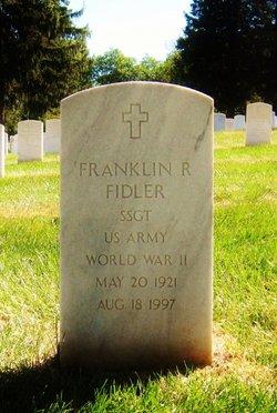 Franklin R Fidler