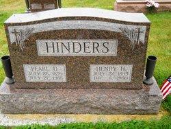 Pearl DeWill <I>Hayes</I> Hinders