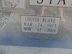 Louise <I>Blake</I> Staples