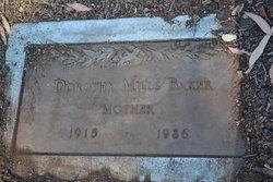 Dorothy Margret <I>Mills</I> Baker