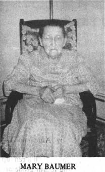 Mary Angela <I>Senger</I> Baumer