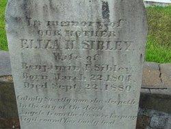 Eliza H. Sibley