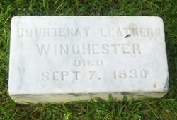 Courtenay Leigh <I>Leathers</I> Winchester