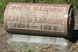 Mertie <I>Lathers</I> Lawrence