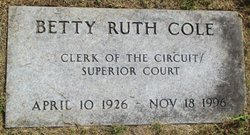 Betty Ruth Cole
