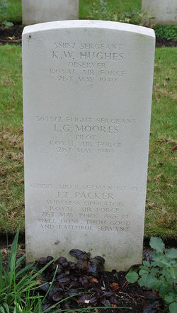 Aircraftman 1st Class (W. Op.) John Thomas Packer