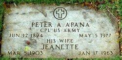 Jeanette K <I>Fuller</I> Apana