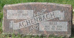 Bessie Sue <I>Sharp</I> Achenbach