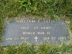 William Edward Altic