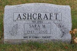 """Sara M. """"Sally"""" <I>Sites</I> Ashcraft"""