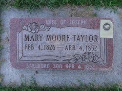 Mary <I>Moore</I> Taylor