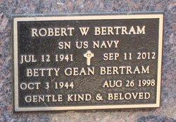 Betty Gean Bertram