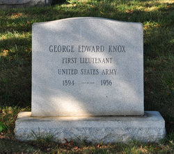 1st L George Edward Knox