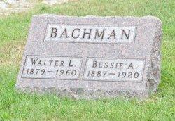 Bessie A. <I>Clark</I> Bachman