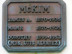 Dorothy <I>McKim</I> Alvarez