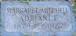 Margaret Mitchell Adriance