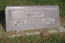Effie W. <I>Wilson</I> Honeycutt