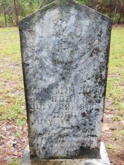 Mrs Mary Henrietta <I>Strickland</I> Doss