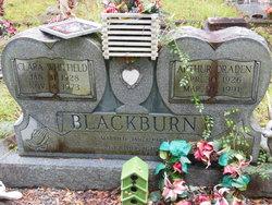 Clara May <I>Whitfield</I> Blackburn