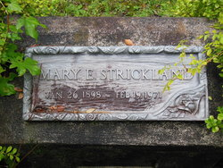 Mary E Strickland