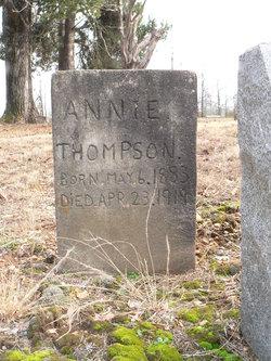 Annie <I>Chitty</I> Thompson