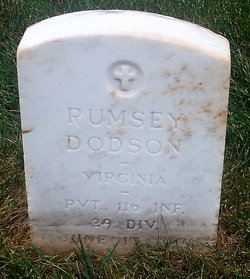 PFC Rumsey E Dodson