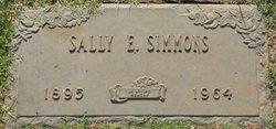 Sally E. <I>Brinson</I> Simmons