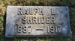 Ralph L Shrider