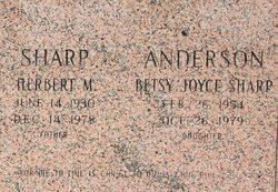 Betsy Joyce <I>Sharp</I> Anderson