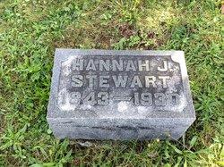 Hannah J. <I>Bray</I> Stewart