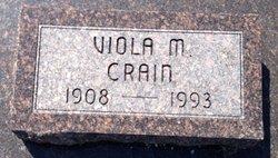 Viola M <I>George</I> Crain