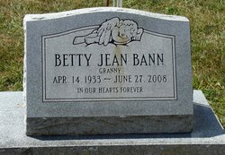 "Betty Jean ""Granny"" <I>DeMoss</I> Bann"