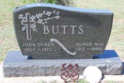 Homer Mae <I>Dennis</I> Butts