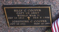 Billy C Cooper