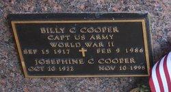 Josephine C Cooper