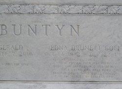 Edna Drunett <I>Goff</I> Buntyn