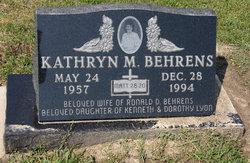 Kathryn Marie <I>Lyon</I> Behrens