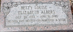 Betty Louise Albers