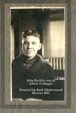 John Albert Heckler