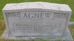Annie Lee <I>Singleton</I> Agnew