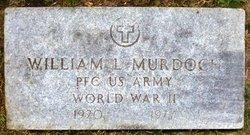 """PFC William L """"Billie"""" Murdoch"""