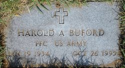 PFC Harold A. Buford