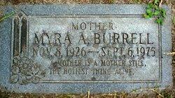 Myra Ailene <I>Williams</I> Burrell