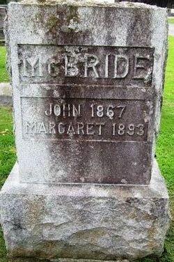 Margaret <I>Fitzsimmons</I> McBride