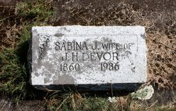 Sabina Jane <I>Spracklen</I> Devor